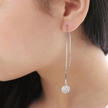 Buy Li & Fang 2017 Fashion Round Drop Earrings Alloy Statement Bohemian Maxi Copper Vintage Crystal Cute Long Earrings Women Jewelry for $1.97 in AliExpress store