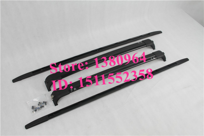 Aluminium roof baggage luggage rack bar rail bar Suitable for Land Rover Discovery 3 4 Discovery3 Discovery4 LR3 LR4 2006-2014(China (Mainland))