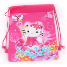 school bags 2014 new fashion hot cartoon hello kitty children backpack bag for kids boys girls