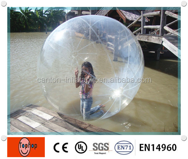 1.0mm TPU inflatable water walking ball rental for water sports funny games dia 2m(China (Mainland))