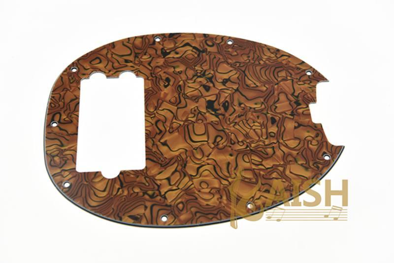 KAISH Bass Pickguard MusicMan Stingray MM4 Scratch plate for Music Man MM2 4 String Guitar Parts Tiger Stripe(China (Mainland))