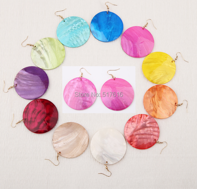 Wholesale earrings shell 11 colors woman summer beach earring Factory wholesale price <br><br>Aliexpress