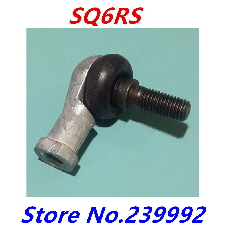 4pcs SQ6 SQ6RS M6X1.0 female metric threaded Winding Ball Joint right hand tie rod end bearing(China (Mainland))