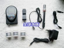 Digital 2 in 1 pH temperature Aquarium Controller BNC Dual Display Electrodes mV CO2 O3, ph meter, WP-508 + FREE SHIPPING(China (Mainland))