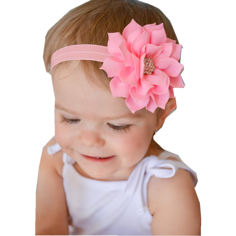 1PCS Retail Flower headband for Newborn Infant Toddler girls Baby Hair Accessory headband Kids Headpiece Free shipping DGM65(China (Mainland))