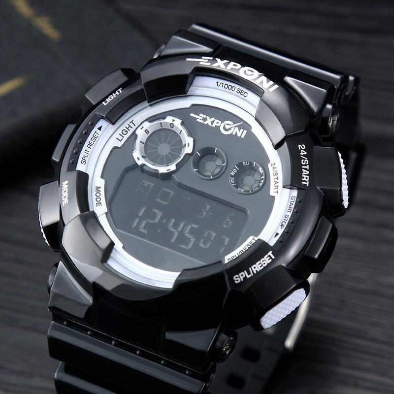 СВЕТОДИОДНЫЕ Электронные Часы Мужчины Спорт Наручные Часы 2016 Лучший Бренд Класса Люкс Известный Мужской Часы Военные Цифровые часы Relogio Masculino