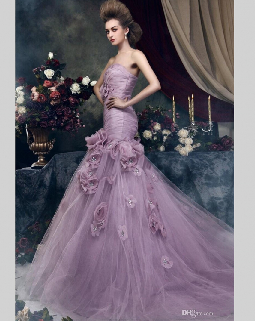 Compare Prices On Light Purple Wedding Dresses Online