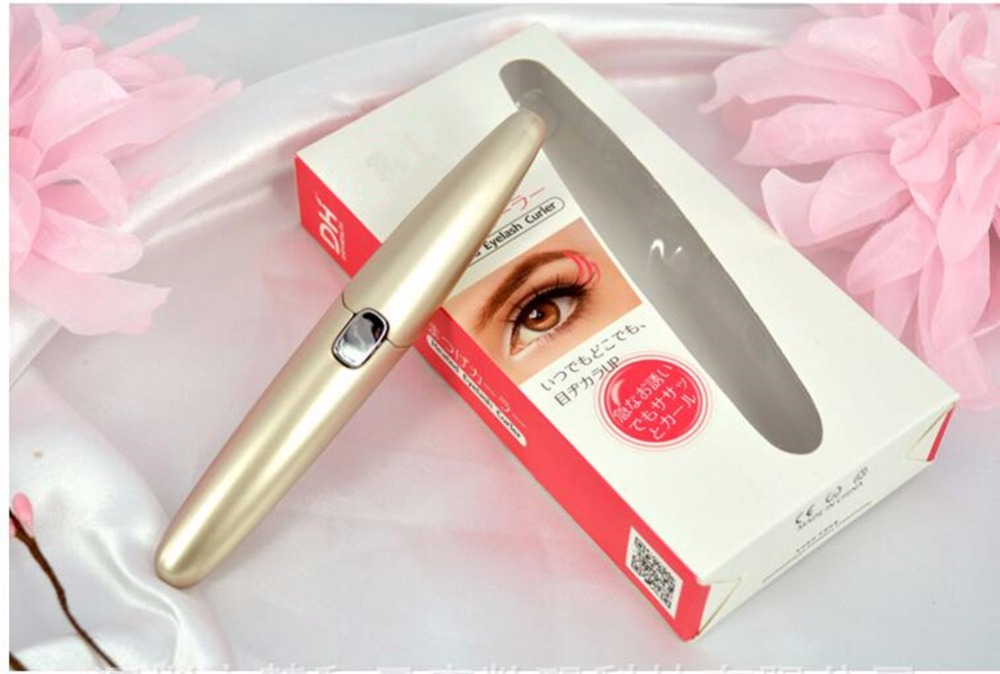 Personal Care Product New Arrival Handy Heated Electric Eyelash Curler(China (Mainland))