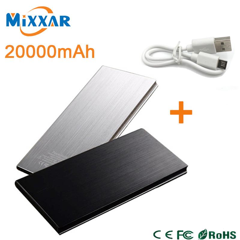 zk90 New Arrival 20000mAh Portable Power Bank External Battery Pack Charger Dual USB Powerbank Cargador Portatil(China (Mainland))