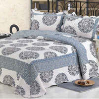 2014 good quality colorful prewash bedcover patchwork quilt