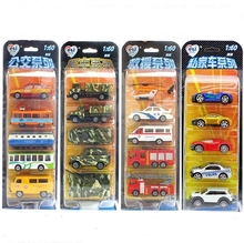 1:64 ETA MINI car A B C D E /engineering/city/police style alloy toy model(China (Mainland))