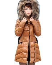 popular white down coat