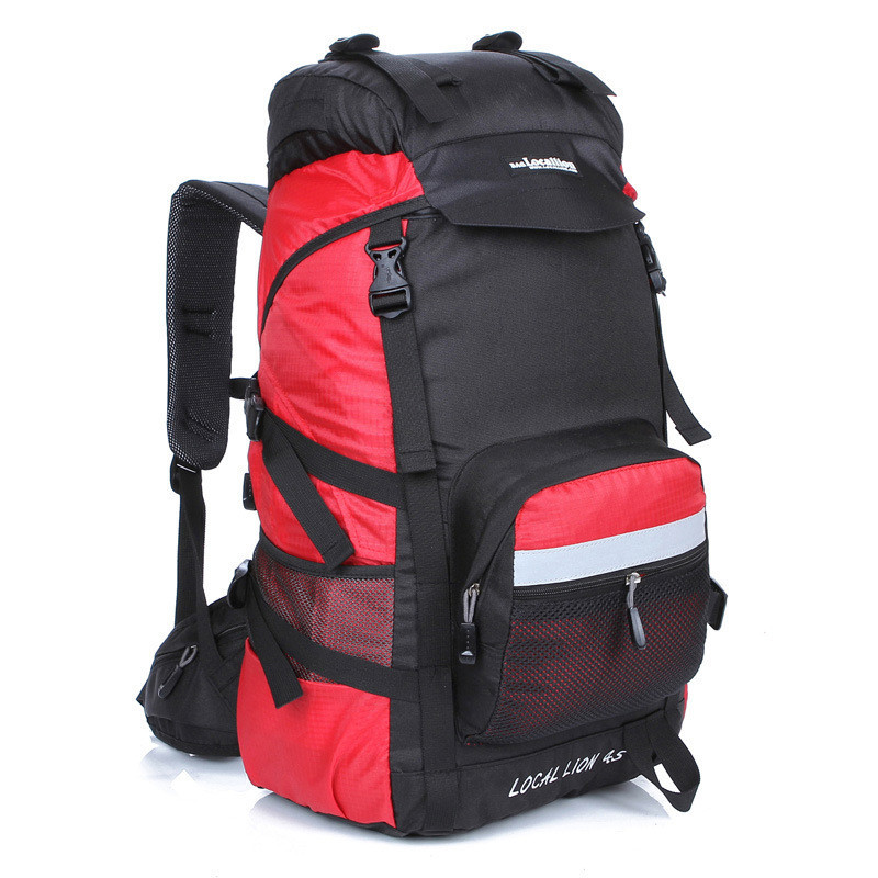 Фотография 45L Outdoor Sport Travel Backpack Mountain Backpacks Climb Knapsack Camping Hiking Backpack Packsack Wholesale