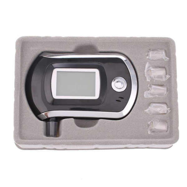 Alcohol Tester The Breathalyzer Car Detector New 2015 Fashion Alkohol Tester Plastic 10*6*2 Tester Car Styling Free Shipping(China (Mainland))