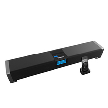 Salute 80w 24-inch Home Theater TV Sound Bar Bluetooth Streaming Music Speaker with Integrated Deep Bass Video Theatre System