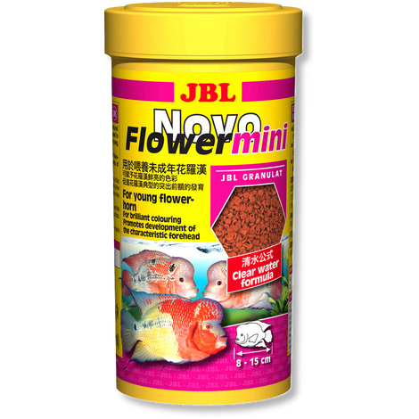 JBL Flowerhorn cichlids granules tropical fish food ...