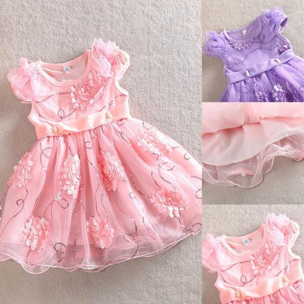 Платье для девочек Unbrand  Kid Girls Dress боди для девочек unbrand bodysuit
