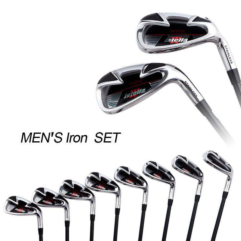 INSTOCK 8 Pieces/Set New #7 Golf Irons Set Man Golf Clubs With Graphite Club Shaft High Quality Golf Wedge(China (Mainland))