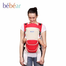 Bebear Breathable Baby Carrier Comfortable Babies Sling Original 3D Mesh Fabric Ergonomic Kids Wrap Baby Backpack for Mon(China (Mainland))