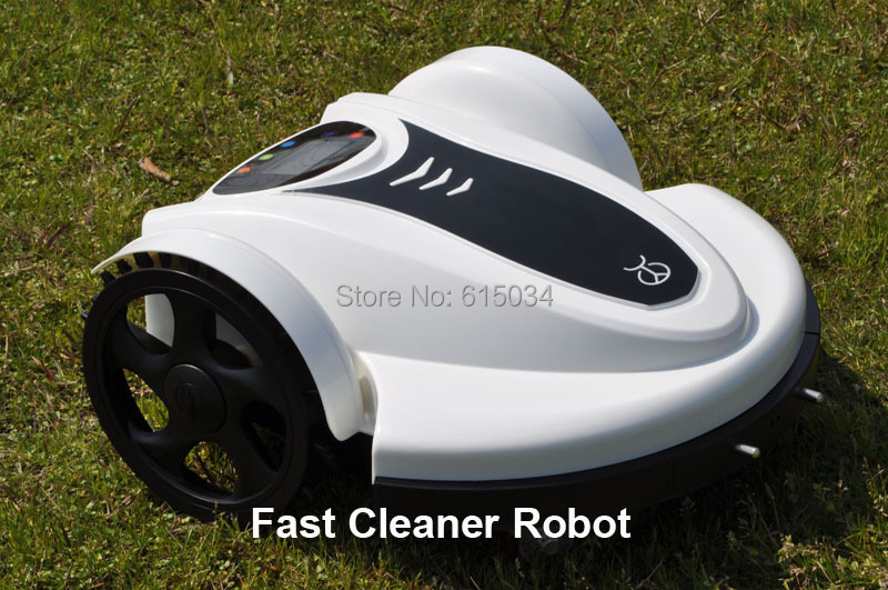 Newest Lithium battery Remote Control Lawn Mower Robot 158N With Password,Schedule and Subarea Setting,Auto Recharge,LCD(China (Mainland))