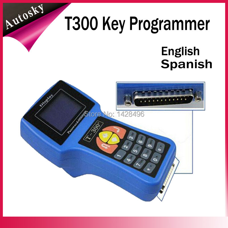 2015 Latest Promotion Price T300 Car Key Programmer Newest Version V15.8 T-Code T 300 Universal T-300 Car Key Transponder(China (Mainland))