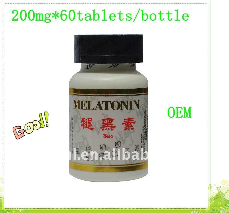 GMP Certified High Quality Tablets Melatonin 3mg<br><br>Aliexpress