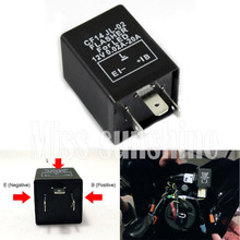 High quality CF14 Flasher Relay Fix LED/SMD Fast Indicator Blinker/Decoder Electronic Turn Signals(China (Mainland))