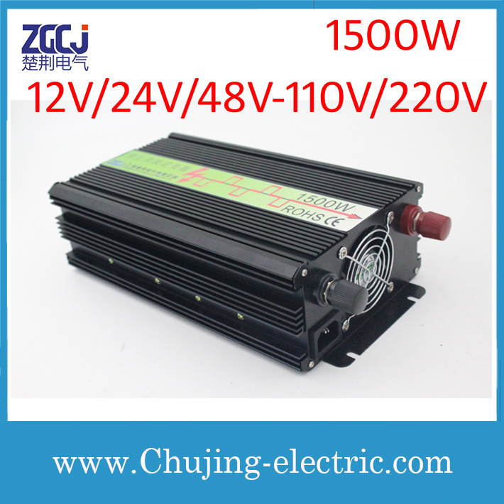 High quality modified sine wave power inverter DC-AC inverter 1500W intverter Voltage converter(China (Mainland))