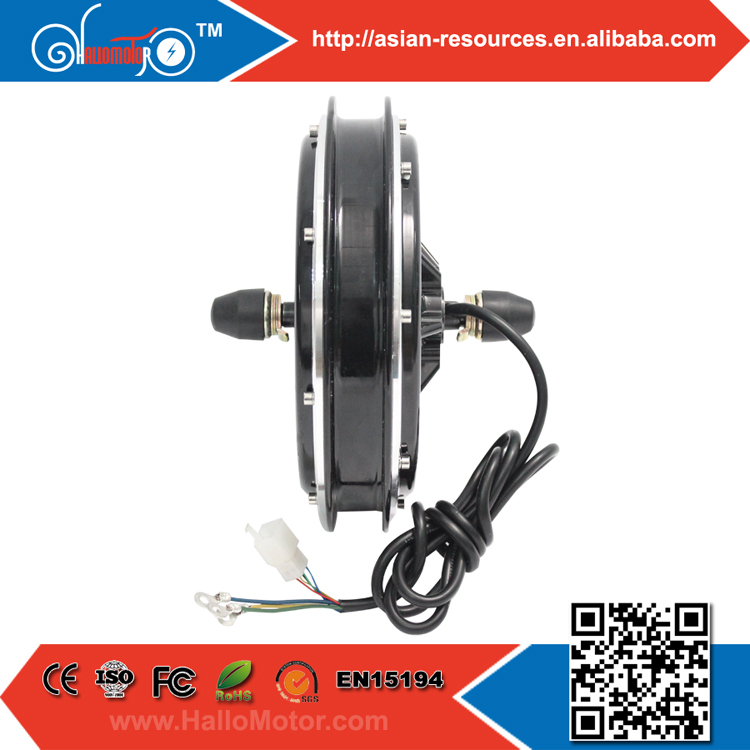 2015 High Quality 48V 1000W Electric Bicycle Motor Ebike Brushless,Gearless Hub Motor for Front Wheel e-bike conversion Kit(China (Mainland))