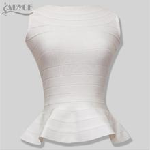 Brand new top quality 2016 peplum hemline essentials ruffles long style summer bandage TOP lady's vest gilet camiseta 7 colors(China (Mainland))