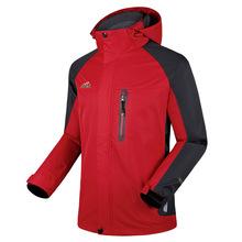 Men's clothing autumn outdoor Mountaineering wear waterproof jacket coat Soft shell piece outdoor windbreaker men Hiking jacket