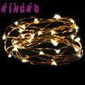 holiday lighting string 3M 30LED Button Cell Powered Silver Copper Wire Mini Fairy String Lights l61221