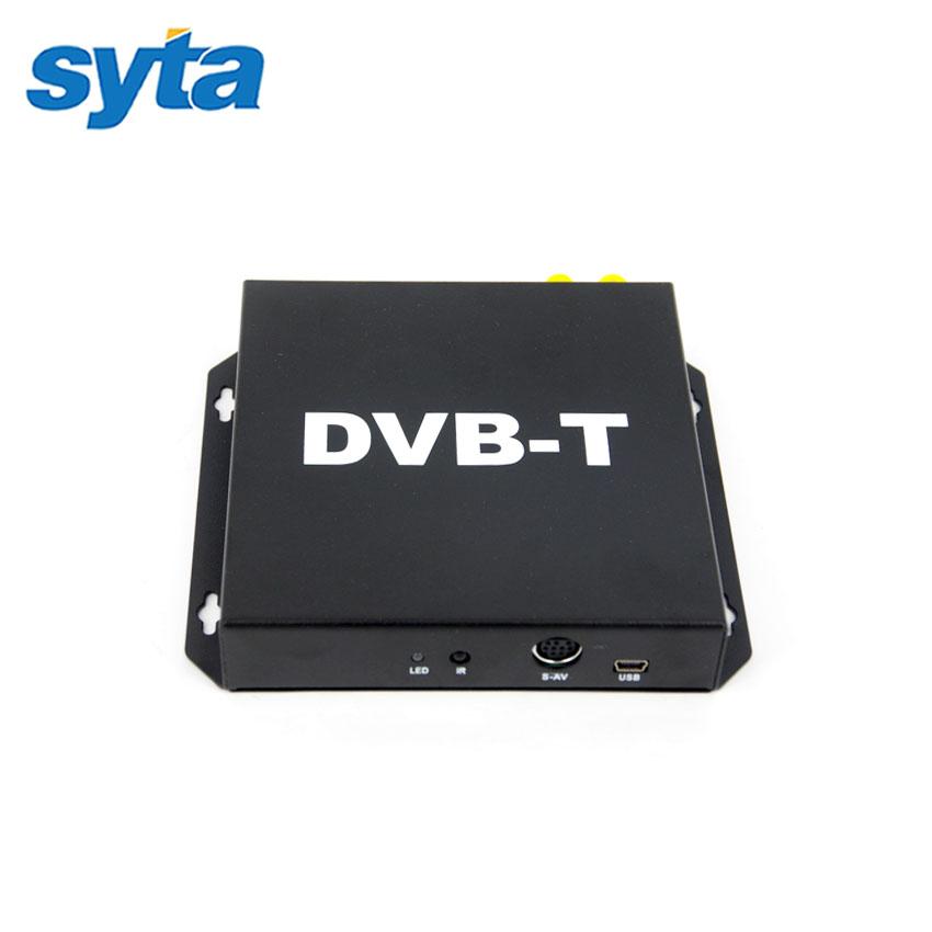 Car Mobile DVB-T Digital TV Receiver Double Antenna Car DVB-T Receiver Car Mobile DVB-T BOX With PVR USB HDMI For Europe Market(China (Mainland))