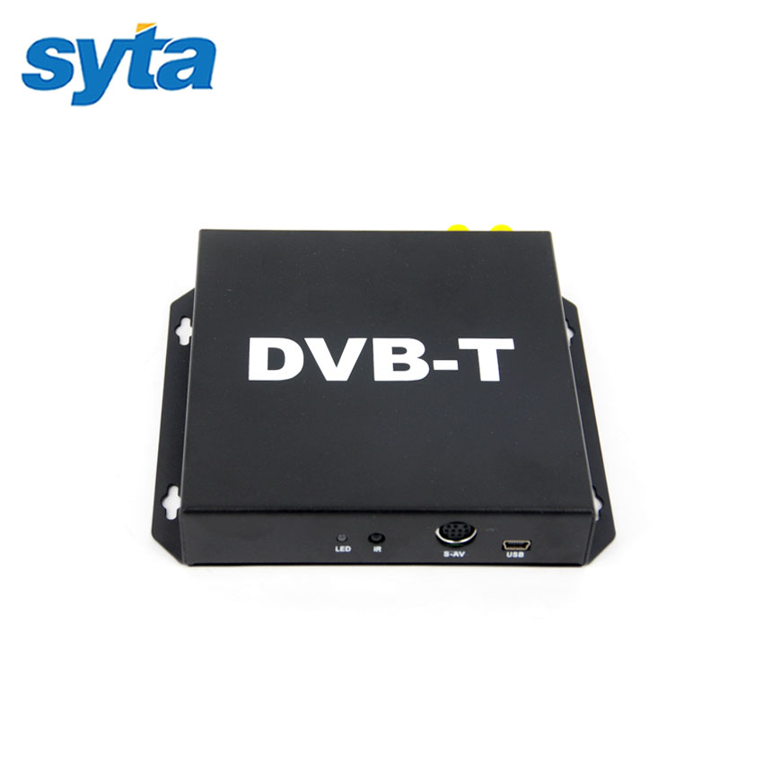 Car Mobile DVB-T Digital TV Receiver Double Antenna Car DVB-T Receiver Car Mobile DVB-T BOX With PVR USB HDMI For Europe Market(China (Mainland))