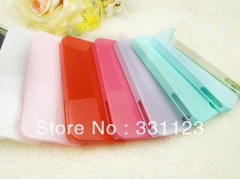 New arrival Lovely Cute Candy Ice Cream Glossy Hard Case Cover Skin For Apple iPhone 4 4G 4S wholesale 10pcs/lot