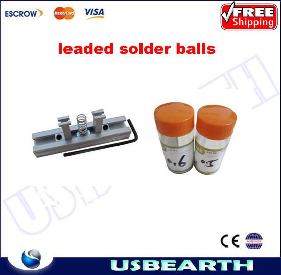 free shipping,BGA reballing kit directly heating station + bag solder ball , 2pcs * 25k/bottle For BGA Rework(China (Mainland))