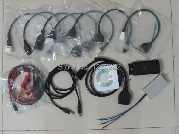 Специальные инструменты для мотоциклов нью-бесплатная 7in1 для yamaha, Sym, Kymco, Suzuki, Htf, Генпрокуратура и мотоцикл HONDA диагностический инструмент