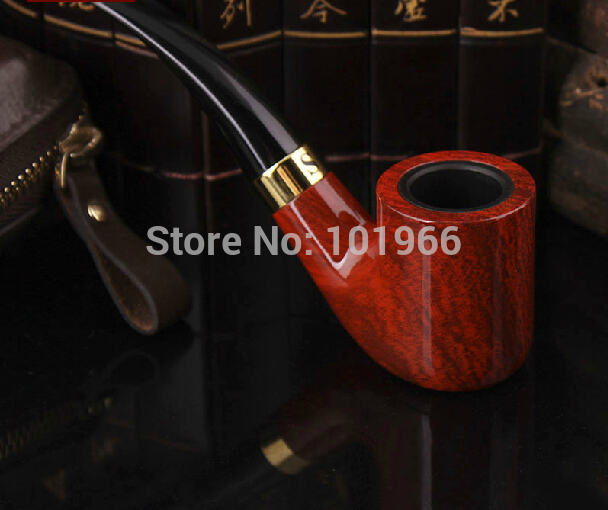 Free Shipping Durable Wooden Smoke Pipe Tobacco Pipes Washable Wholesale Dropshipping