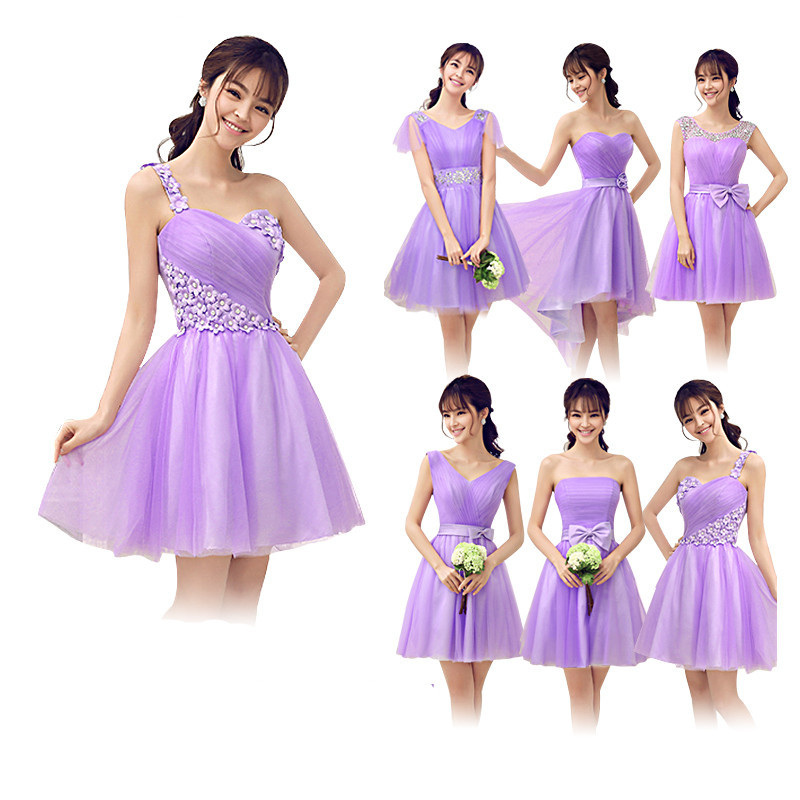 Moderno Different Colored Bridesmaid Dresses Inspiración - Ideas ...
