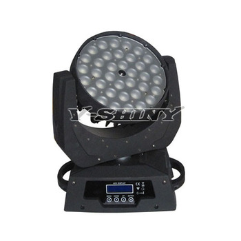 High Power 10W36 RGBW 4-in-1 color zoom led moving head wash stage light