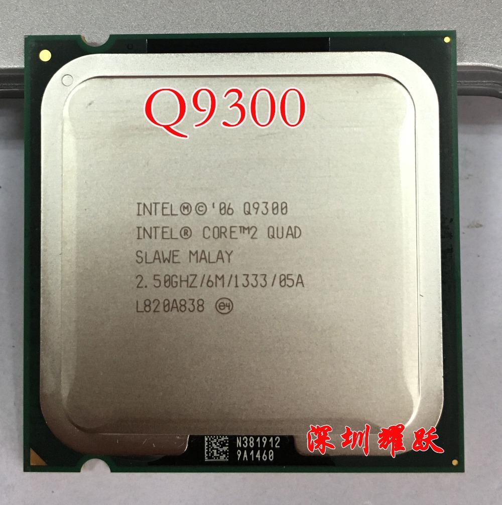 Intel Core2 Quad Processor Q9300 (6M Cache, 2.50 GHz, 1333 MHz FSB) LGA775 Desktop CPU(China (Mainland))
