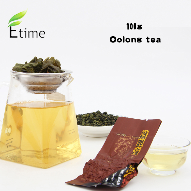 oolong tea 100g Wholesale New Arrival Chinese Top Green food Health Care teiguanyin Fresh Flavor Loose Weight tikuanyin tea W004(China (Mainland))