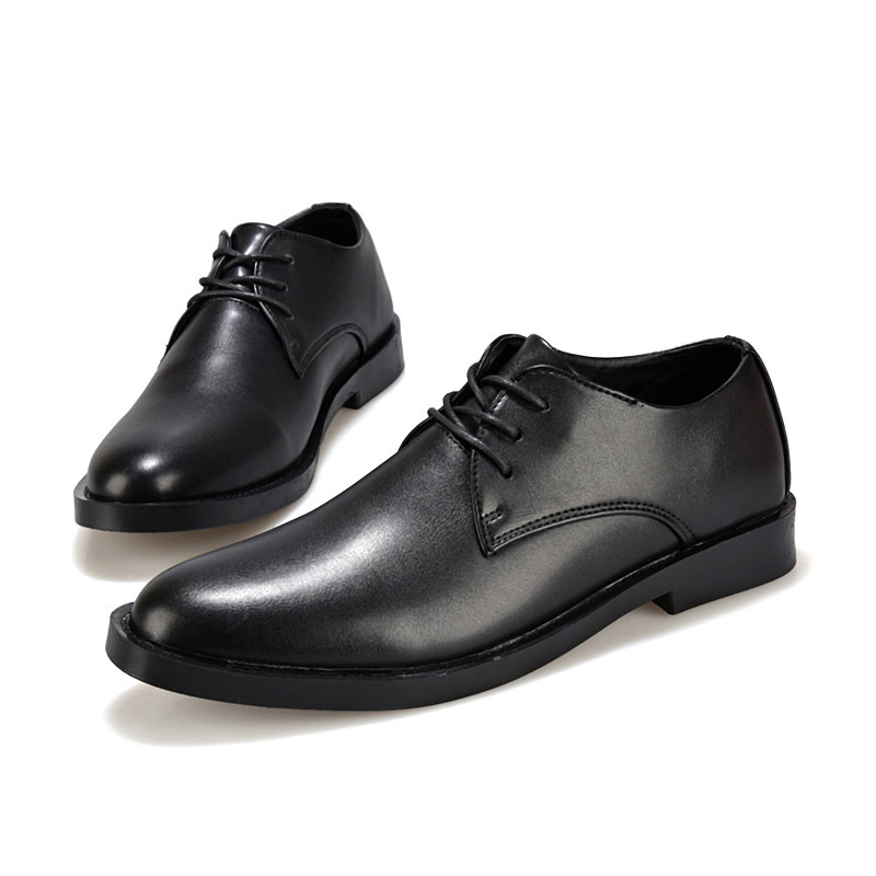 New 2015 black &amp; brown men shoes size 39-44 men dress shoes luxury british business casual shoes solid selling in stcok,#91802<br><br>Aliexpress