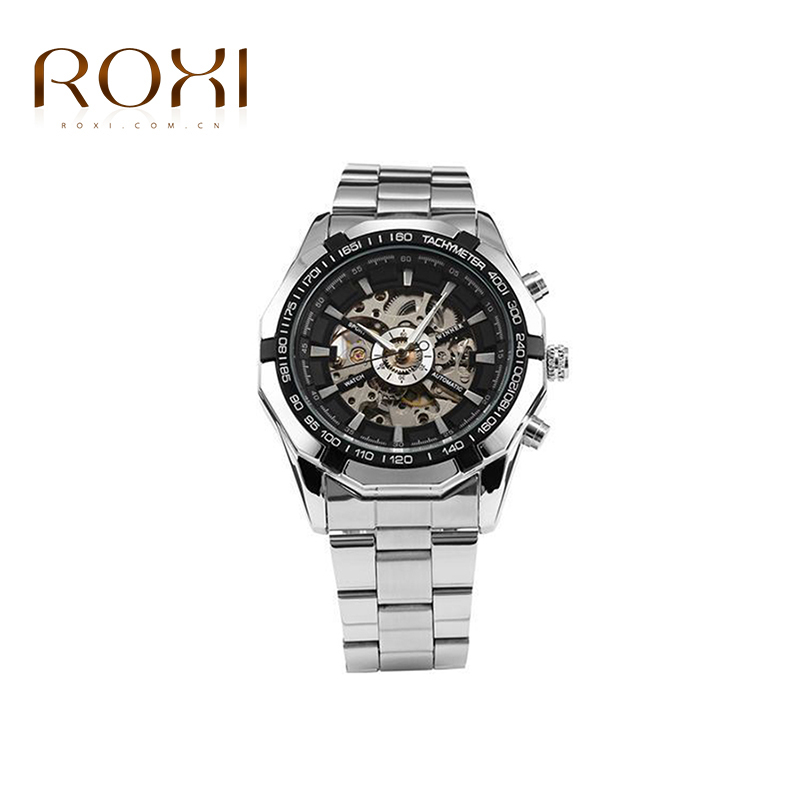 2015 Hot fashion watches man Steam punk Clock Mens Automatic Mechanical Mens Wrist Watch Military Style Men Wristwatches<br><br>Aliexpress