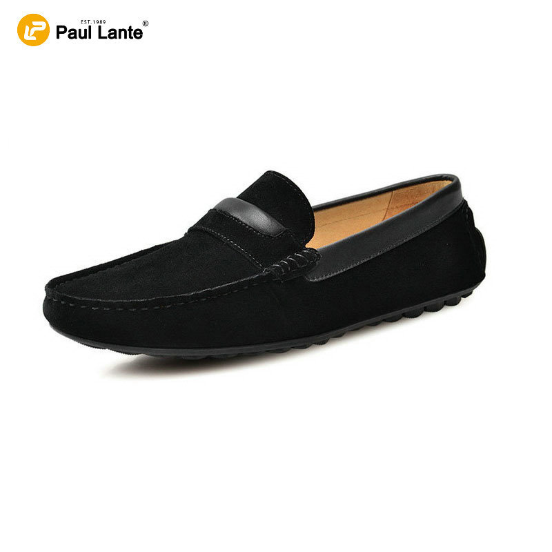 2016 fashion branded quality loafers for suede