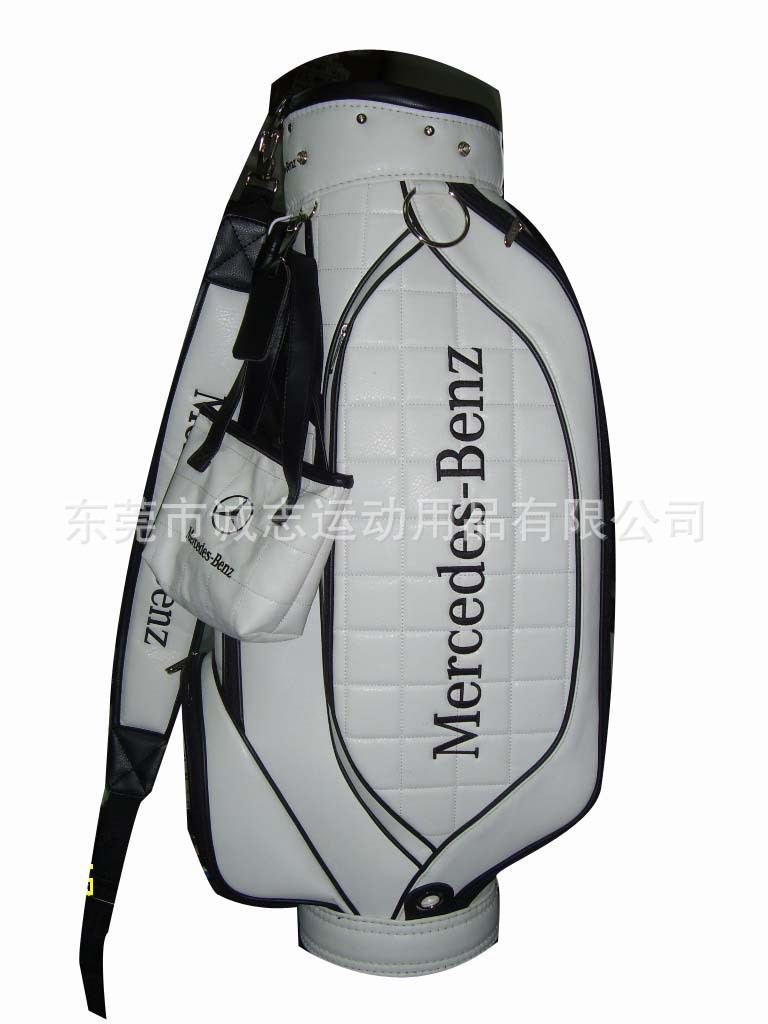 Professional golf bags manufacturer laundry bag manufacturer PVC PU female golf package(China (Mainland))