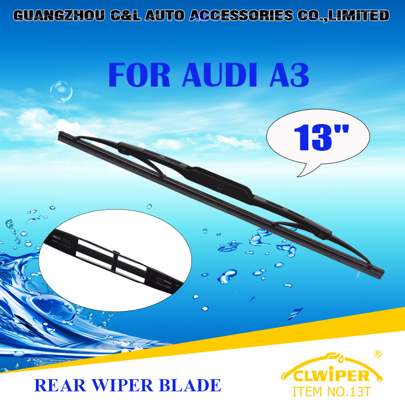 "For AUDI A3, Exclusive Rear Car Windshield Windscreen Wiper Blade 13"" Fast shipping Cars styling accessories(China (Mainland))"