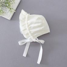 Newborn Baby Girls Cotton Hats Sun Cap Bonnet Infants Toddler Sunhat Beanies 0-8 Month(China (Mainland))