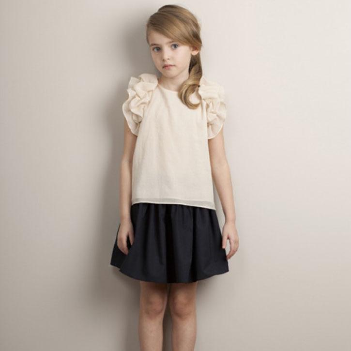 90 150 Summer Spring Baby Girls High Waist Black Tutu Skirt Fashion Children Clothing Kids Girl