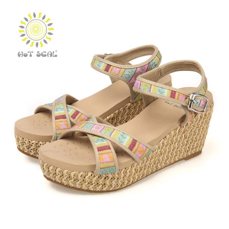 2015 Summer Style New Women Sandals Ladies Shoes Women High Heel Sandals Thick Heel Platform Sandals Women fashion Shoes 5049<br><br>Aliexpress